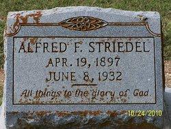 Alfred F. Striedel