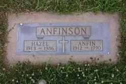Hazel Ovida <i>Olson</i> Anfinson