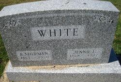R Sherman White