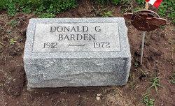 Donald G Barden