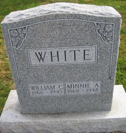 Minnie A White