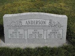 Elva <i>Housley</i> Anderson