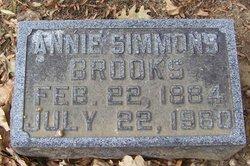 Annie <i>Simmons</i> Brooks
