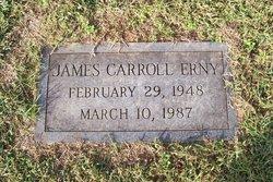 James Carroll Erny