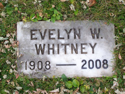 Evelyn Ruth <i>Waning</i> Whitney