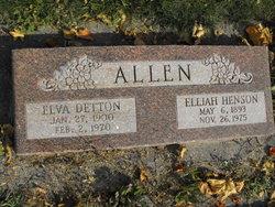 Elva Geneva <i>Detton</i> Allen