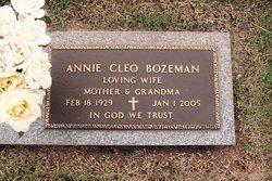 Annie Cleo Bozeman