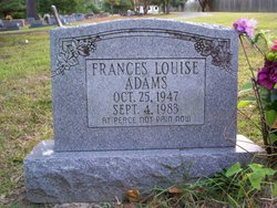 Frances Louise Adams