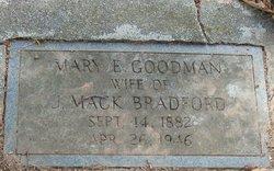 Mary Etta <i>Goodman</i> Bradford