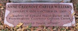 Anne Cazenove <i>Carter</i> Williams