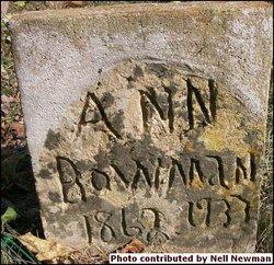 Julia Ann Ann <i>Roop</i> Bowman