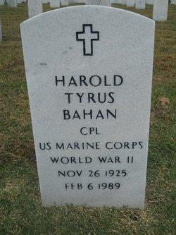 Harold Tyrus Bahan
