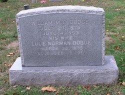 Lulie M <i>Norman</i> Dodge