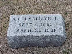 Arthur Downing Upshur Addison, Jr
