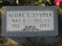 Audre Elizabeth Snyder