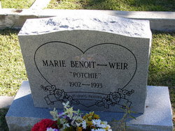 Marie Potchie <i>Benoit</i> Weir