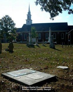 Bowdon Baptist Cemetery