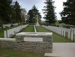 Y Ravine Cemetery, Beaumont-Hamel
