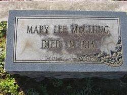 Mrs Mary <i>Lee</i> McClung