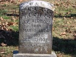 Joe Aldridge