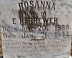 Rosanna Brewer