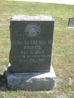 Corp Clarence M. Raines