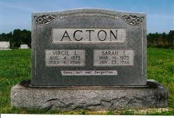 Virgil Lee Acton