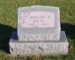Bernard Henry Ben Backs