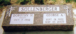 George A Solly Sollenberger, Jr