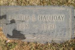 Leetha Ethel <i>McInturff</i> Halliday
