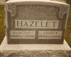 Margaret Jane <i>Johnson</i> Hazelet