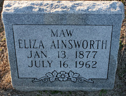 Eliza Ainsworth