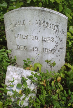 Archibald Hunter Arrington, Jr