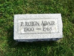 P Robin Adair