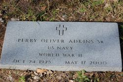 Perry Oliver Adkins, Sr