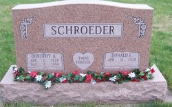 Dorothy A. Dottie Schroeder