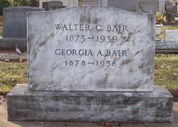 Georgiana Anna Georgia <i>Parker</i> Bair