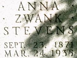 Anna <i>Zwank</i> Stevens