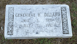 Genevieve Cathereene <i>Hughes</i> Dillard