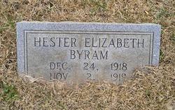 Hester Elizabeth Byram