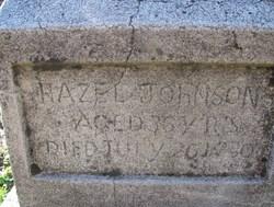 Hazel <i>Wallace</i> Johnson