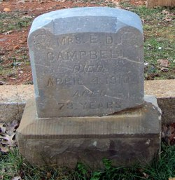 Sarah Mrs. E.D. Campbell <i>Sloan</i> Campbell