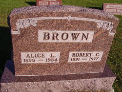 Alice L Brown