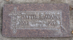 Hattie L. <i>Stoy</i> Adams