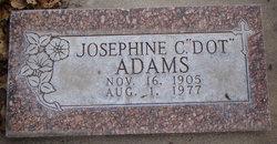Josephine Dot <i>Holland</i> Adams