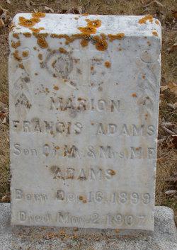 Marion Francis Adams, Jr