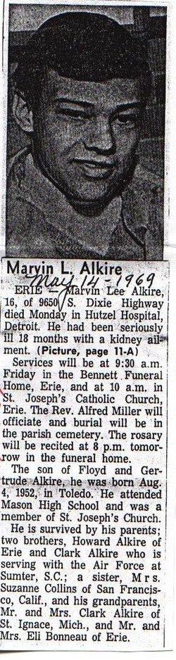 Marvin Lee Alkire