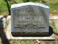 Virginia W <i>Hough</i> Diehl