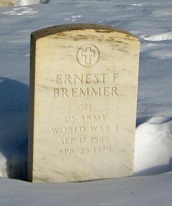 Ernest F Bremmer