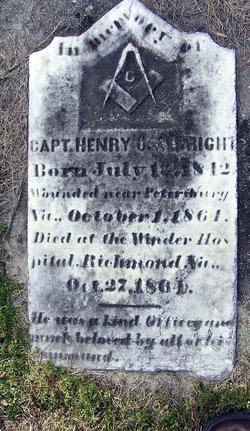 Capt Henry C. Albright